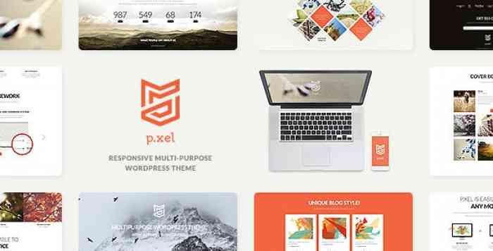 PIXEL V1.2 – A MODERN MULTI-PURPOSE WORDPRESS THEME
