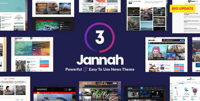JANNAH NEWS V3.2.0 – NEWSPAPER MAGAZINE NEWS AMP