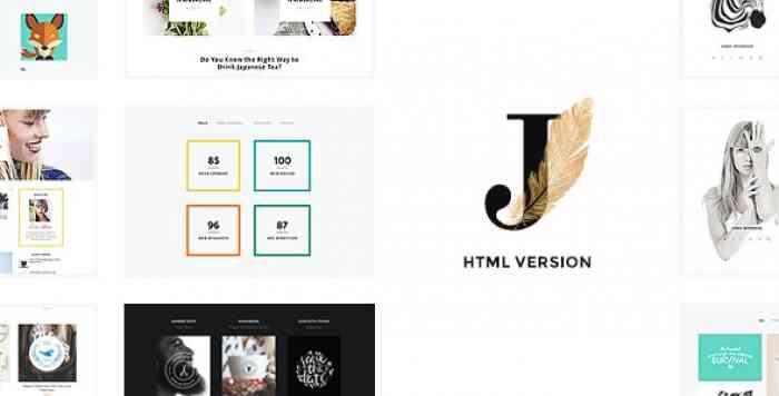 CINDY J V1.0 – CREATIVE PORTFOLIO / BLOG / CV HTML THEME