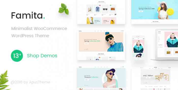 FAMITA V1.14 – MINIMALIST WOOCOMMERCE WORDPRESS THEME