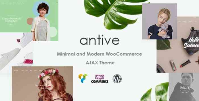 ANTIVE V1.5.1 – MINIMAL AND MODERN WOOCOMMERCE AJAX THEME (RTL SUPPORTED)