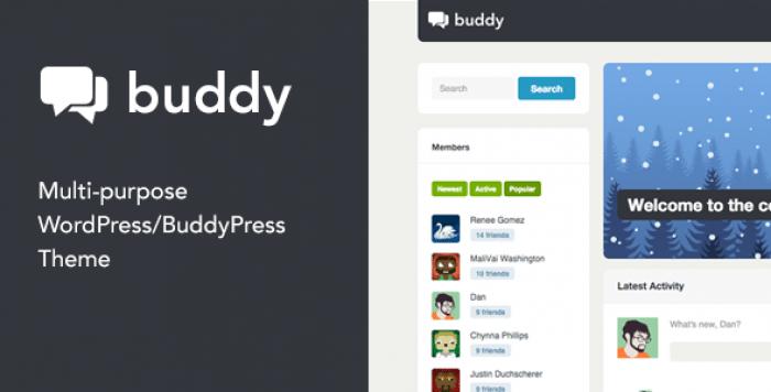 BUDDY V2.20.1 – MULTI-PURPOSE WORDPRESS / BUDDYPRESS THEME