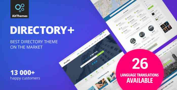 DIRECTORY V2.34 – WORDPRESS THEME