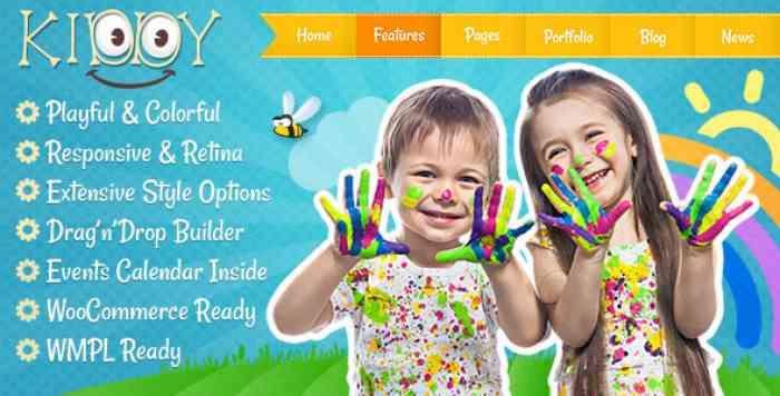 KIDDY V1.1.6 – CHILDREN WORDPRESS THEME