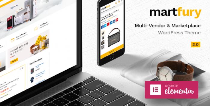 MARTFURY V2.0.8 – WOOCOMMERCE MARKETPLACE THEME