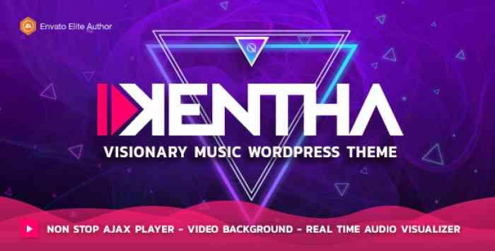 KENTHA V1.5.2 – VISIONARY MUSIC WORDPRESS THEME