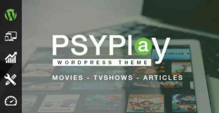 PSYPLAY V1.2.5 – THEME FOR MOVIES & SERIES
