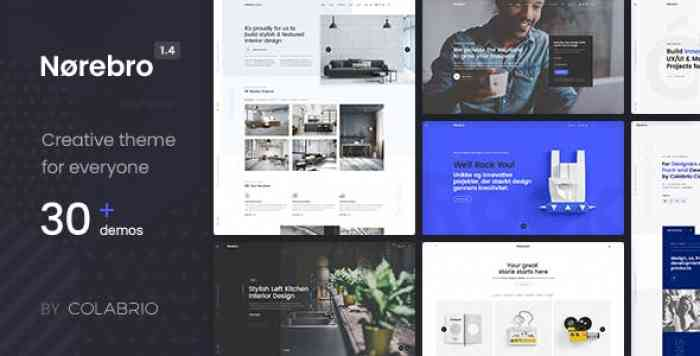 NOREBRO V1.4.0 – CREATIVE MULTIPURPOSE WORDPRESS THEME