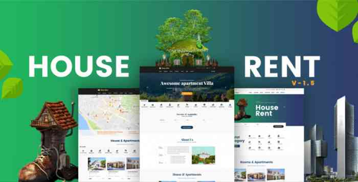 HOUSERENT V1.6 – MULTI CONCEPT RENTAL WORDPRESS THEME