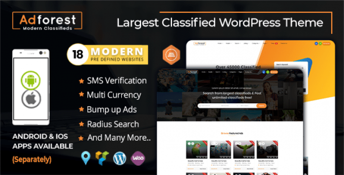 ADFOREST V3 4 3 – CLASSIFIED ADS WORDPRESS THEME – Borntohell