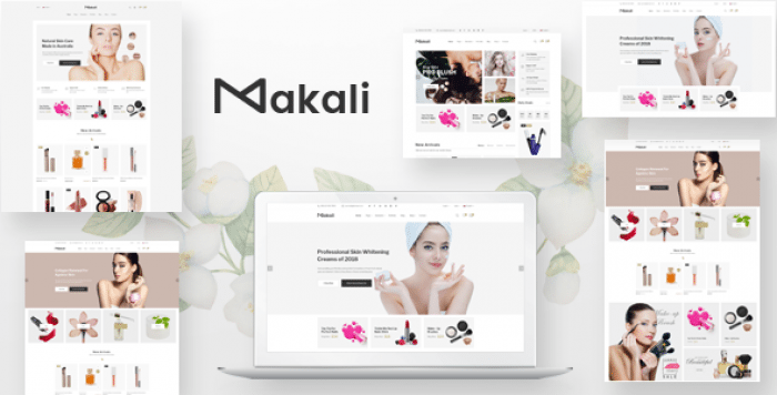 MAKALI – COSMETICS & BEAUTY OPENCART THEME (INCLUDED COLOR SWATCHES)