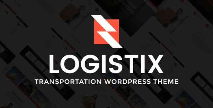 LOGISTIX V1.2 – RESPONSIVE TRANSPORTATION WORDPRESS THEME