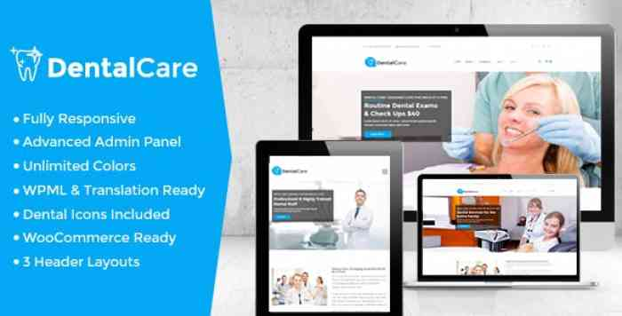 DENTAL CARE V5.9 – DENTAL & MEDICAL WORDPRESS THEME