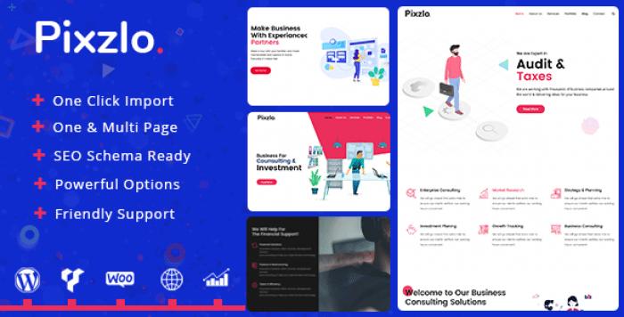 PIXZLO V1.0.3 – CREATIVE THEME FOR PROFESSIONALS