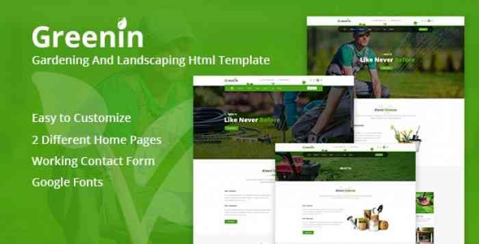 GREENIN – ENVIRONMENT HTML TEMPLATE