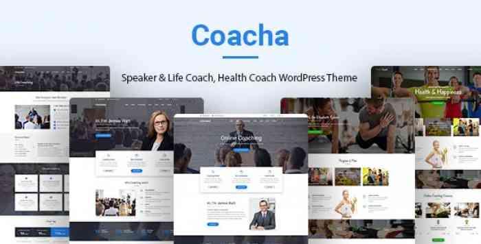 COACHA V1.1.7 – HEALTH AND COACHING WORDPRESS THEME