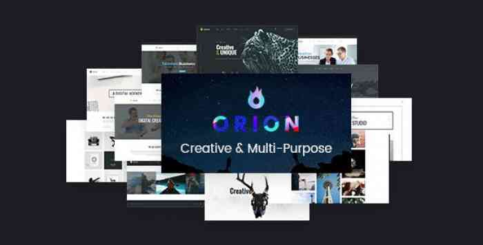 ORION V1.4 – CREATIVE MULTI-PURPOSE WORDPRESS THEME