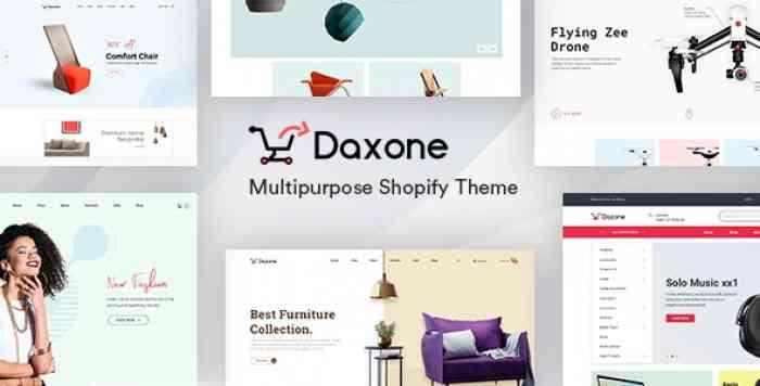 DAXONE V1.0.0 – MULTIPURPOSE SHOPIFY THEME