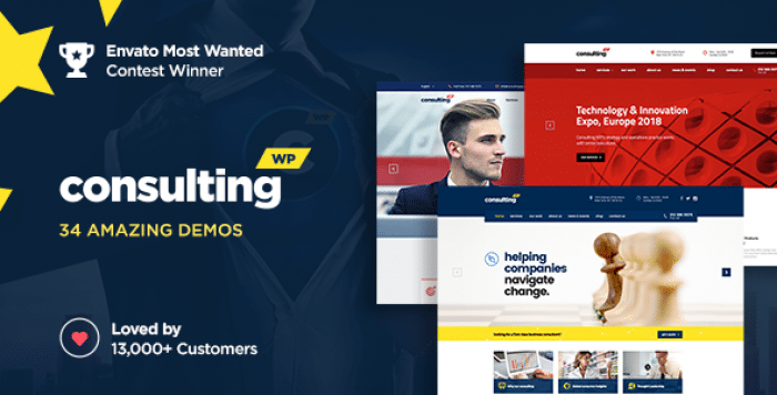 CONSULTING V4.6.3 – BUSINESS, FINANCE WORDPRESS THEME