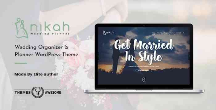 NIKAH V1.3 – WEDDING ORGANIZER & PLANNER