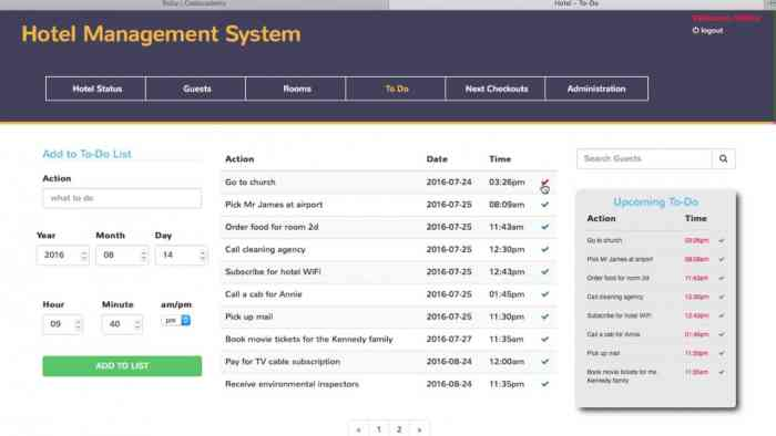 Hotel Management System Free Download – Borntohell