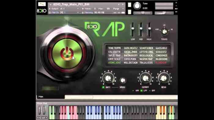 8Dio EDM Trap KONTAKT Library Download