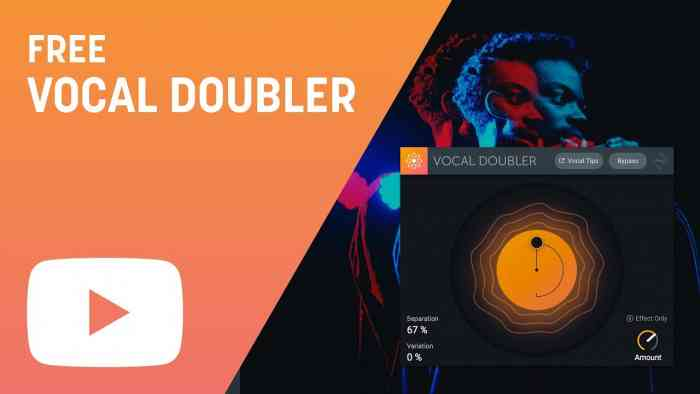 iZotope Vocal Doubler VST Free Download – Borntohell