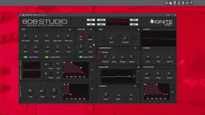 808 Studio VST Free Download