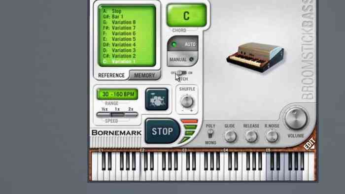 Bornemark Broomstick Bass VSTi Free Download