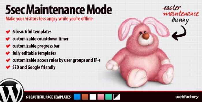 5sec Maintenance Mode v1.2