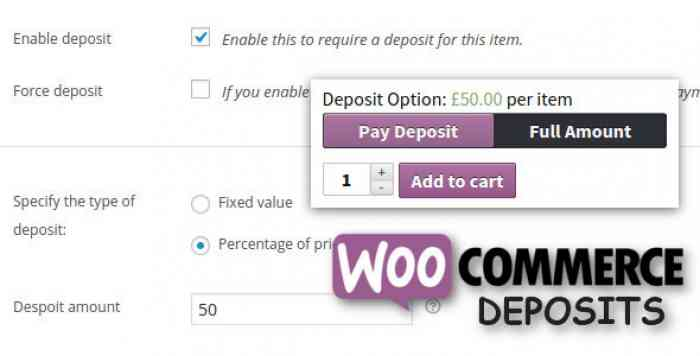 WooCommerce Deposits v2.3.6 - Partial Payments Plugin