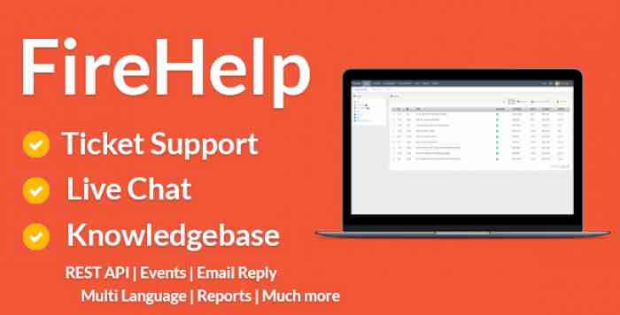 FireHelp v2.0.4 - Tickets, Live Chat and Knowledgebase