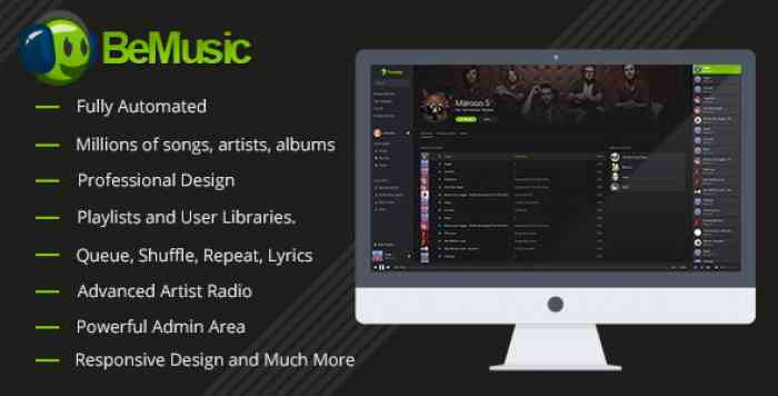 BeMusic v2.1.9 - Music Streaming Engine