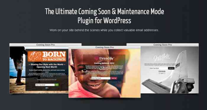 SeedPro Comming Soon Pro v5.11.7 - WordPress Plugin