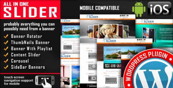 All In One Slider v3.7.1.2 - Responsive WordPress Slider Plugin