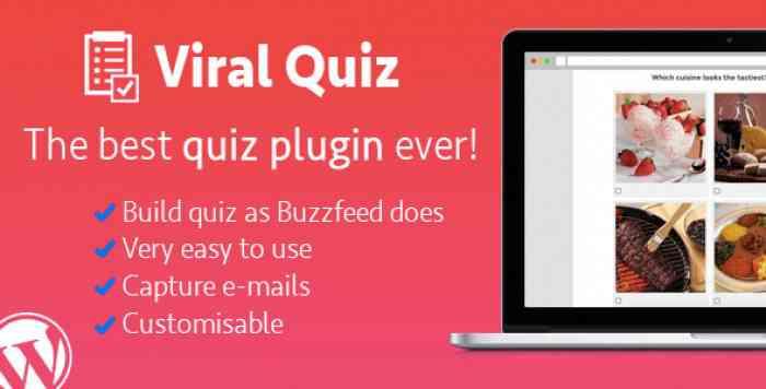 Wordpress Viral Quiz v2.17 – BuzzFeed Quiz Builder