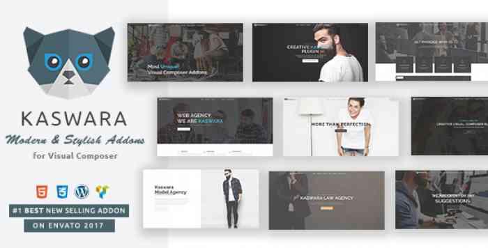 Kaswara v3.0 - Modern Visual Composer Addons