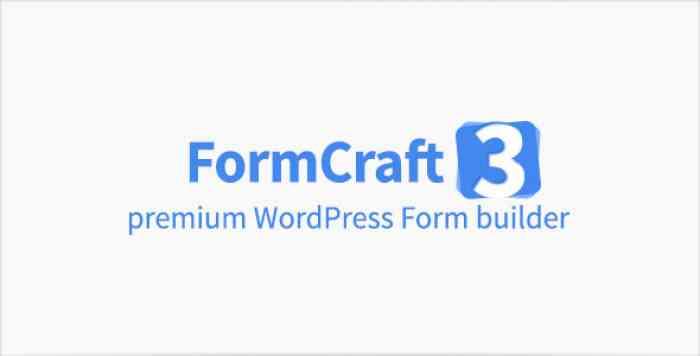 FormCraft v3.7.3 - Premium WordPress Form Builder