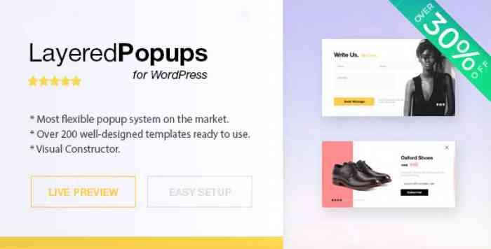 Layered Popups for WordPress v6.48