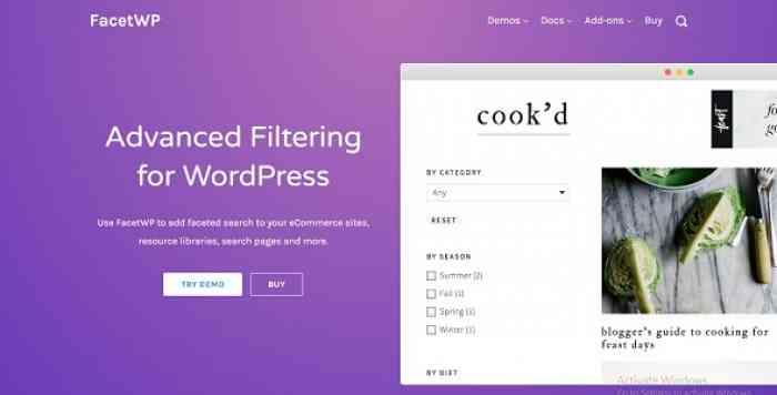 FacetWP 3.3.11 - Better Filtering for WordPress