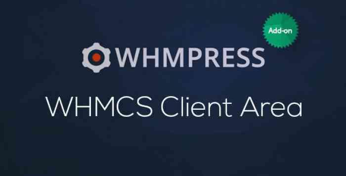 WHMCS Client Area v2.7.2 – WHMpress Addon
