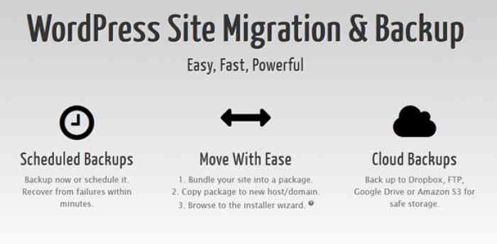 Duplicator Pro v3.8.0 - WordPress Site Migration & BackUp