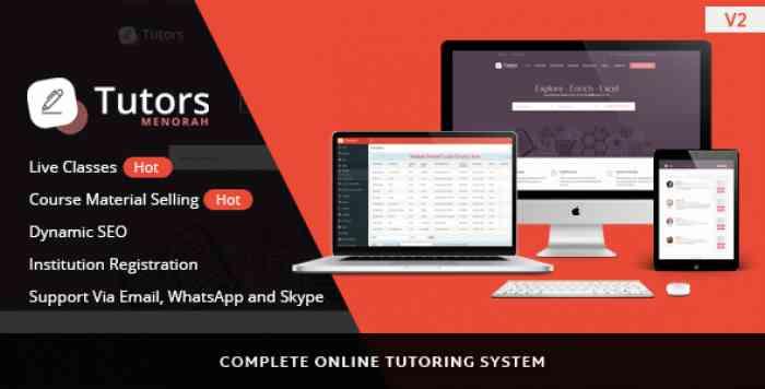 MenorahDirectory v3.0.8 - Online Video Classes Tutoring Script