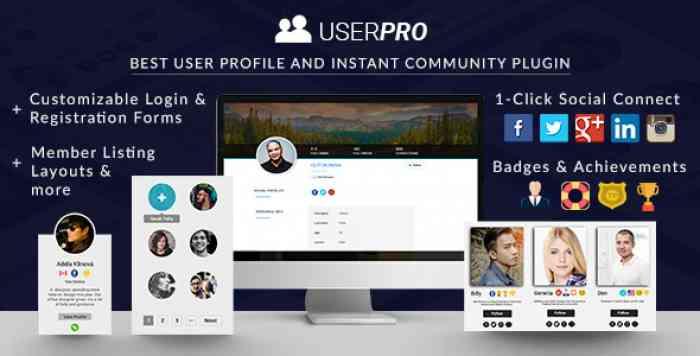 UserPro v4.9.27 - User Profiles with Social Login