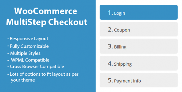 WooCommerce MultiStep Checkout Wizard v3.4.1