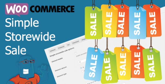 WooCommerce Simple Storewide Sale v1.1.6