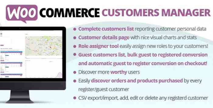 WooCommerce Customers Manager v21.4