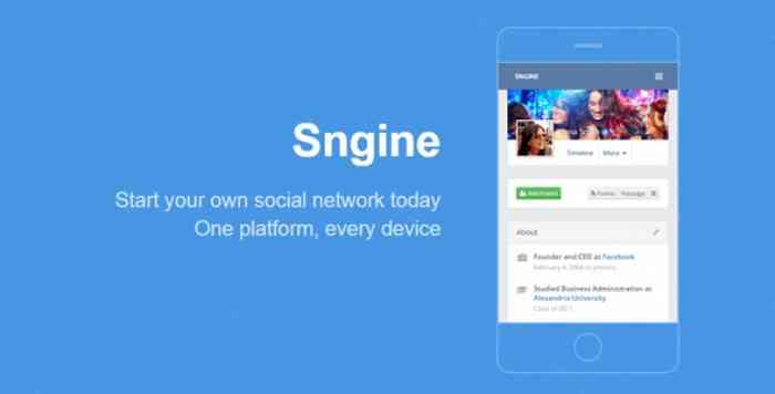 Sngine v2.5.3 - The Ultimate PHP Social Network Platform - Nulled
