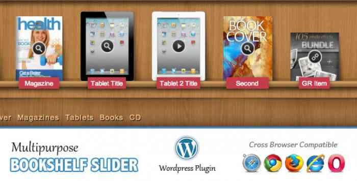 Multipurpose Bookshelf Slider v2.14