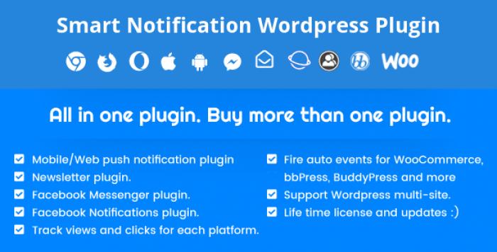 Smart Notification WordPress Plugin v7.8